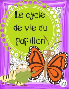 Butterfly Life Cycle Posters French ~ Le cycle de vie du papillon