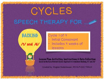 Cycles Approach: Packet 1/4 Backing