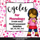 Cycles for Phonology FCD & BONUS