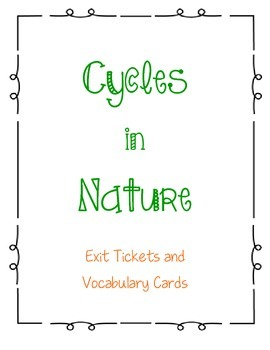 Cycles in Nature