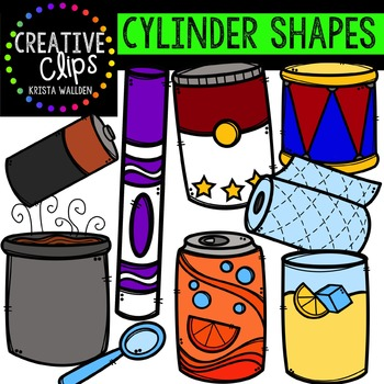 Cylinders {Creative Clips Digital Clipart}