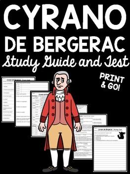 Cyrano de Bergerac Final Test, 48 questions + paragraph, D
