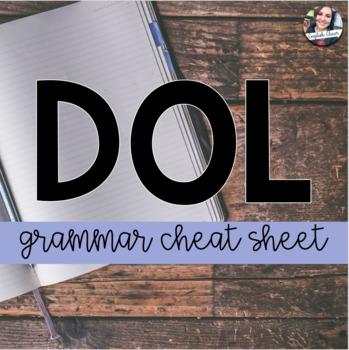 D.O.L. Cheat Sheet