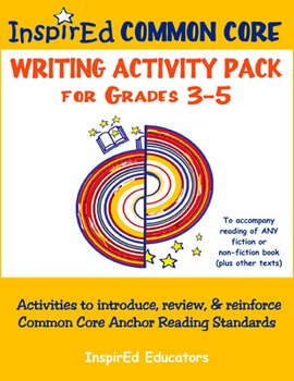 D7305 Common Core Activity Pack (Anchor Writing 3-5)