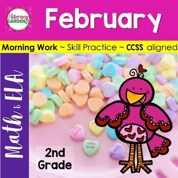 MORNING WORK {Daily Common Core & More} - FEBRUARY ~ 2nd Grade