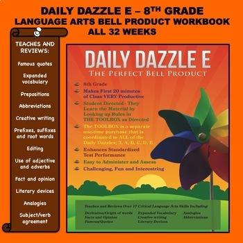 BELL RINGER - LANGUAGE ARTS - DD E BOOK - 8TH GRADE - 1 YE