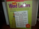 DAILY WORD LADDERS   ISBN 0-439-77345-8
