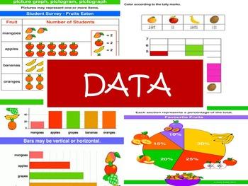 DATA Presentation: organize, represent, interpret, ask/ans
