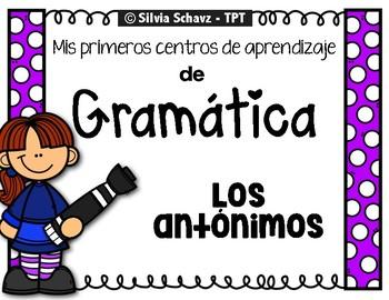 DAILY 5 en Español: CENTROS PARA PRACTICAR ANTONIMOS