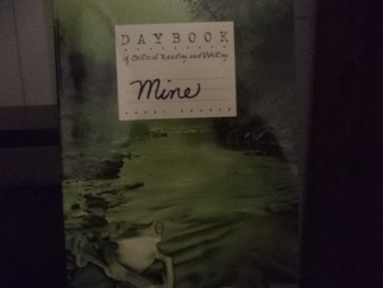 DAYBOOKOF CRITICAL READING AND WRITING    MINE