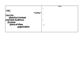 DBQ HIPPo Analysis Sheet