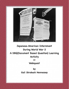 DBQ: Life of a Japanese-American Child Living in an Intern