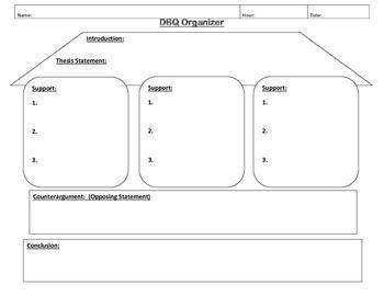 DBQ Organizer