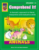 Comprehend It! Animals (Grades 1-3)