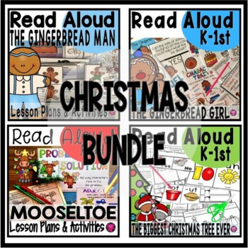 DECEMBER CLOSE READING BUNDLE ACTIVITIES and LESSON PLANS