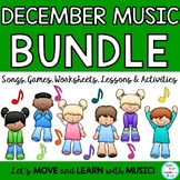 December Music Class Lesson Bundle: Songs, Kodaly, Orff, R