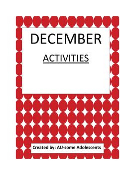 DECEMBER- Re-usable Activities