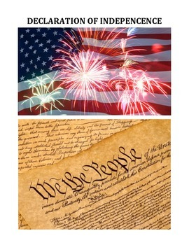 DECLARATION OF INDEPENDENCE: STUDY GUIDE, QUIZ, AND TEXT (