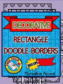 BORDERS CLIPART: PAGE BORDERS CLIPART  (WORKSHEET BORDERS)