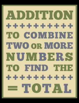 DEFINITION OF ADDITION (8x10)