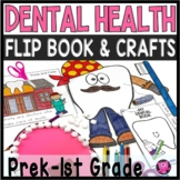 DENTAL AWARENESS MY BIG MOUTH FLIP BOOK and CRAFT for PREK