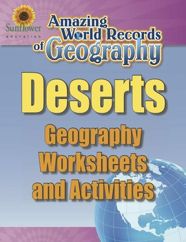 DESERTS—Geography Worksheets and Activities