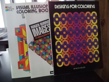 DESIGNS FOR COLOR  IMAGES 2  VISUAL ILLUSION (SET OF 3)