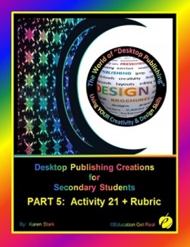 "DESKTOP PUBLISHING (Comp.Apps/ Wd.Proc.) ""#21 Creating 7 '"
