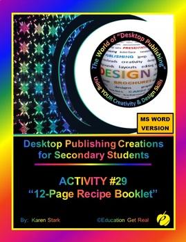 """DESKTOP PUBLISHING (Comp.Apps/ Wd.Proc.) """"#29 - 12-Page Re"""