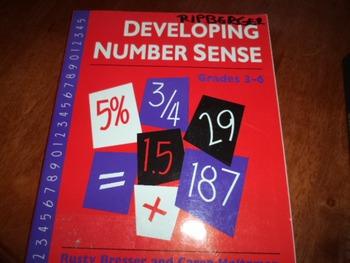 DEVELOPING NUMBER SENSE  ISBN 0-941355-23-3