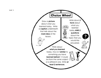 DI Choice Wheels for any Subject