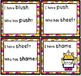 INTIAL and ENDING SH DIGRAPHS GAME SET
