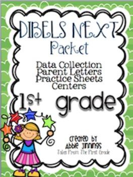 DIBELS NEXT- Data Collection, Parent Letter, Practice Shee