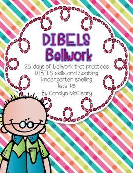 DIBELS Prep Bellwork (for beginners)