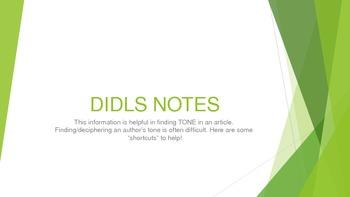 DIDLS - Tone PowerPoint
