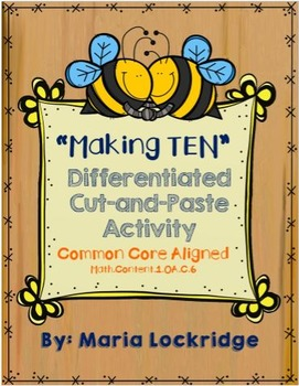 Making Ten Differentiated Cut-and-Paste Activity