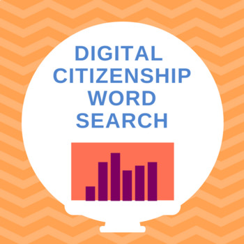 DIGITAL CITIZENSHIP Word Search