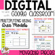 Multiplication using Area Models to use with Google Classroom
