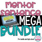 DIGITAL Mentor Sentences MEGA Bundle - Middle and High Sch