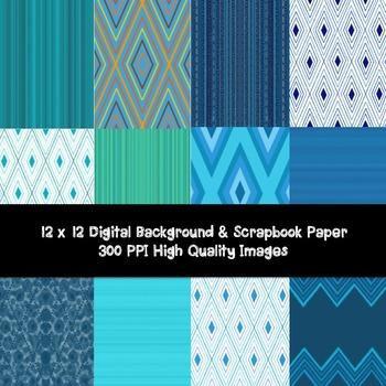 DIGITAL PAPER- BACKGROUNDS- SCRAPBOOK