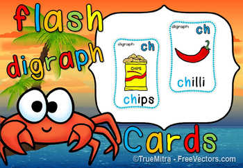 DIGRAPH FLASHCARDS(FREE- FEEDBACK CHALLENGE)