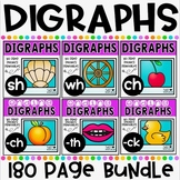 Digraphs No Prep Printables Bundle