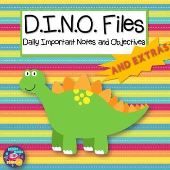 D.I.N.O. Files and Extras Homework Folder