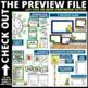 DINOSAUR THEME Classroom Decor - EDITABLE Clutter-Free Cla