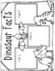 DINOSAUR 8 Math Stations!!!  BONUS-ELA UNIT PLANS