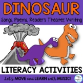 Dinosaur Songs and Poems -Readers Theater, Action Story an