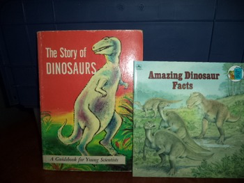 DINOSAURS     AMAZING DINO FACTS    (SET OF 2)
