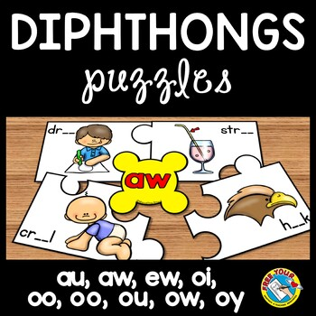 PHONICS ACTIVITIES: DIPTHONGS PUZZLES: DIPHTHONGS CENTER