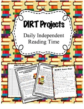 Independent Reading Choice Board Project