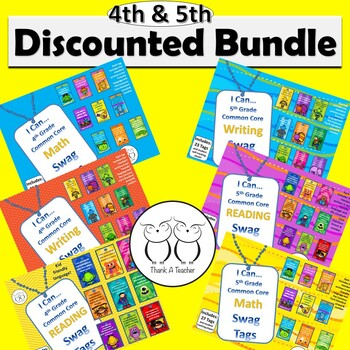 DISCOUNTED Bundle of all 4th Grade/5th Grade Combo Common